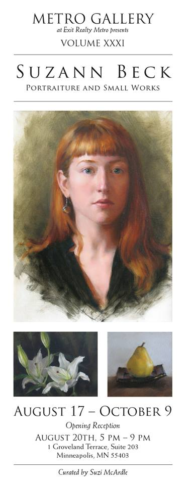 Norell's oil portrait painting featured by artist Suzann Beck